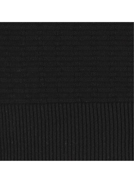 herentrui zwart zwart - 1000017144 - HEMA