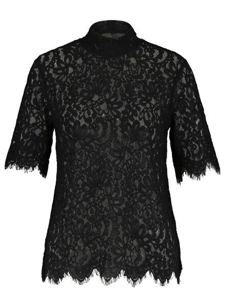dames top zwart zwart - 1000015463 - HEMA