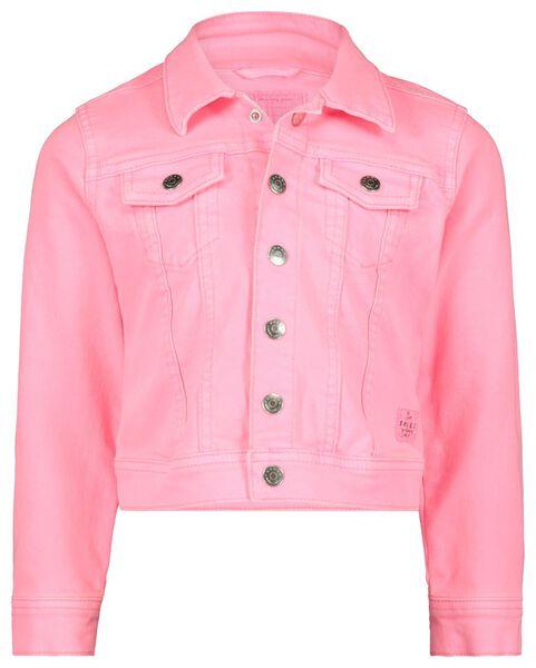 kinder spijkerjasje roze roze - 1000017837 - HEMA