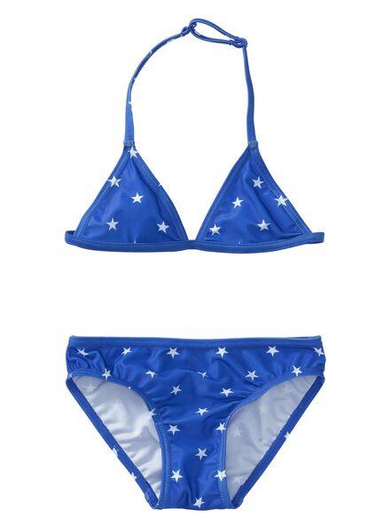 meisjes bikini blauw blauw - 1000002680 - HEMA