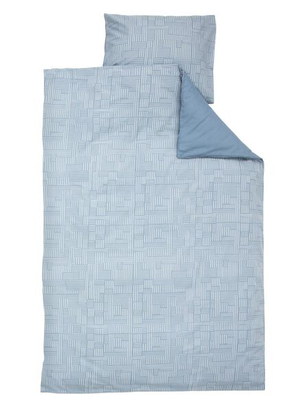 soft cotton dekbedovertrek 140 x 200 cm - 5750010 - HEMA