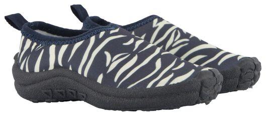 baby waterschoenen zebra zwart zwart - 1000023843 - HEMA