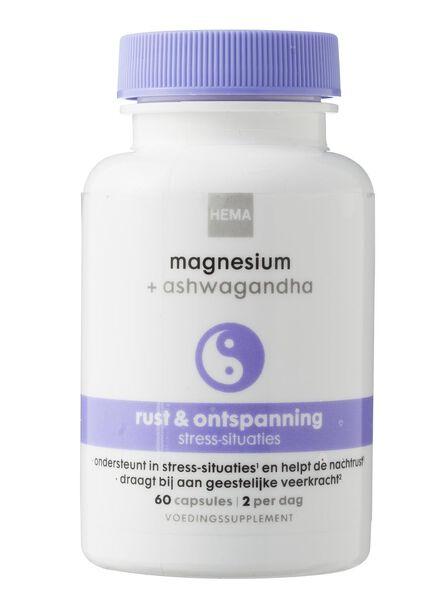 magnesium + ashwagandha - 11401582 - HEMA