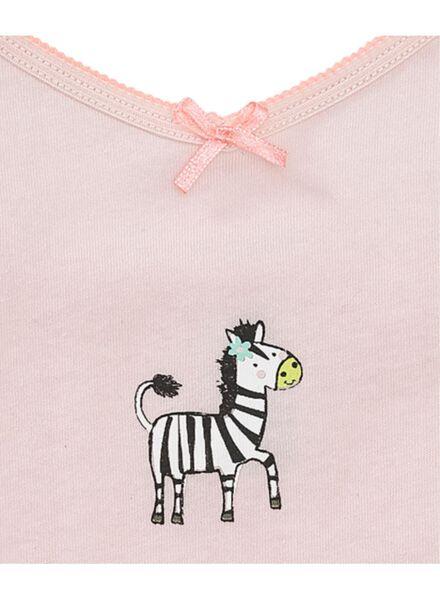 2-pak kinderhemden lichtroze lichtroze - 1000006509 - HEMA