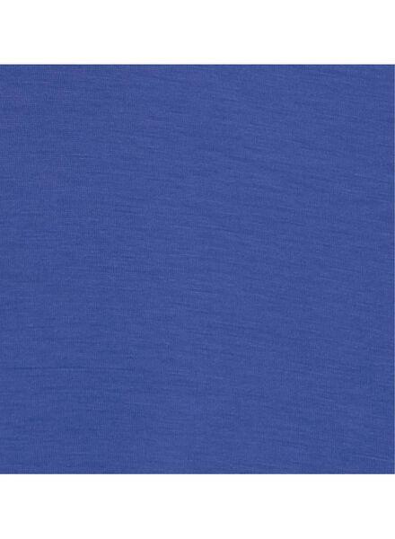 dames t-shirt felblauw felblauw - 1000011659 - HEMA
