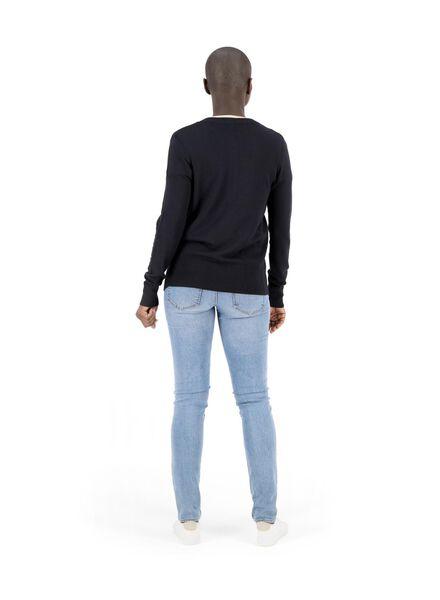 damesvest zwart zwart - 1000014781 - HEMA