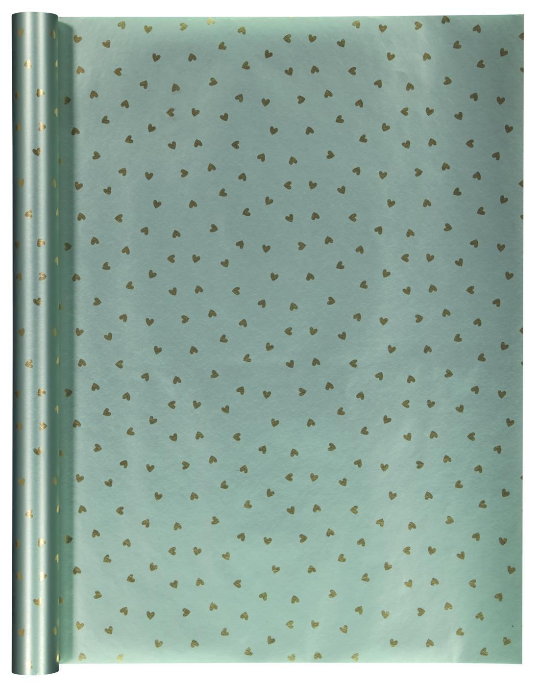 HEMA Kaftpapier 300x50 Hartjes