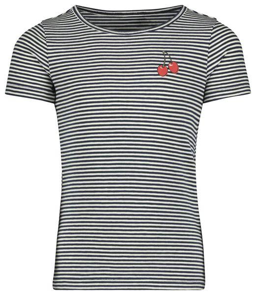 kinder t-shirt donkerblauw 98/104 - 30845160 - HEMA