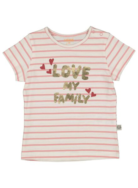 baby t-shirt roze roze - 1000014246 - HEMA