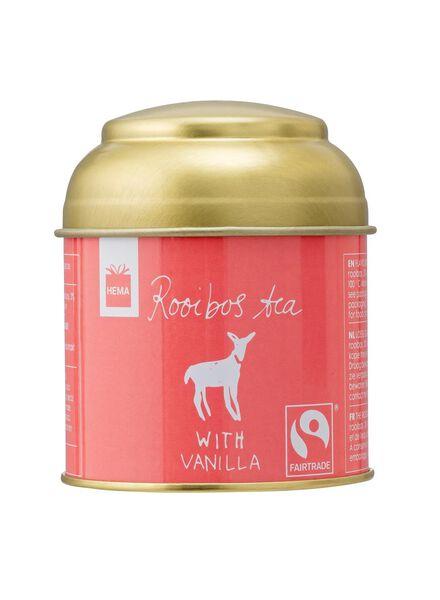rooibos vanille thee fairtade - 60940003 - HEMA