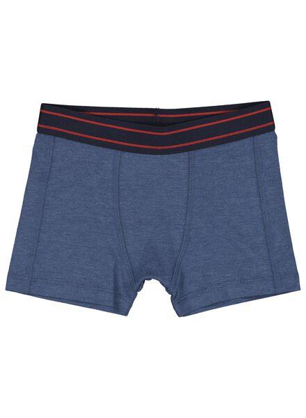 2-pak kinderboxers donkerblauw donkerblauw - 1000014975 - HEMA