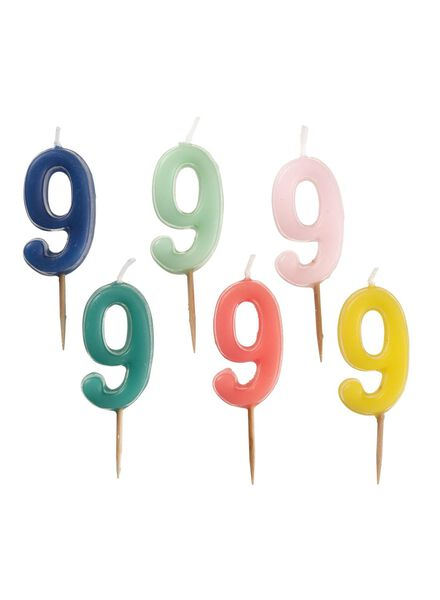 cijferkaars 9 - 14230058 - HEMA