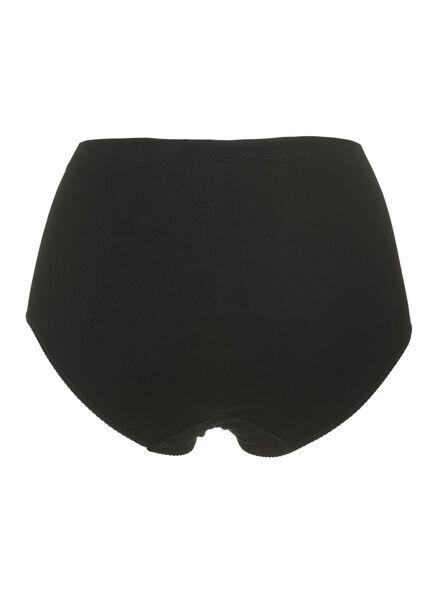 2-pak damesslips katoen zwart zwart - 1000006555 - HEMA