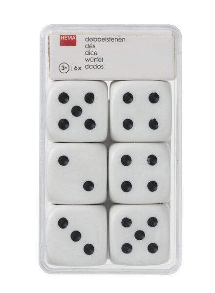 6-pak dobbelstenen - 15980099 - HEMA