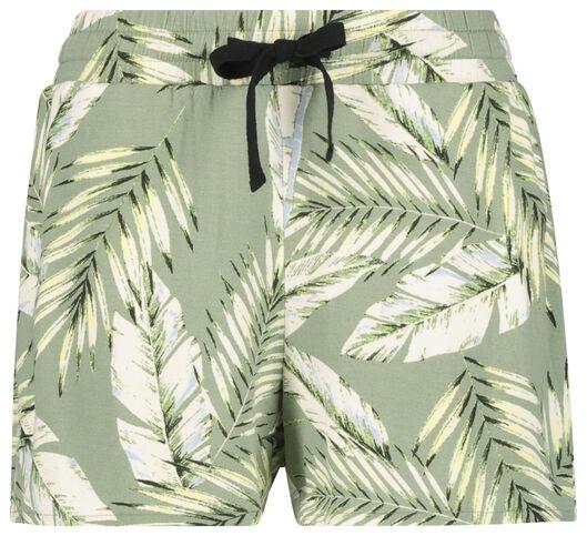 damesshort groen groen - 1000019633 - HEMA