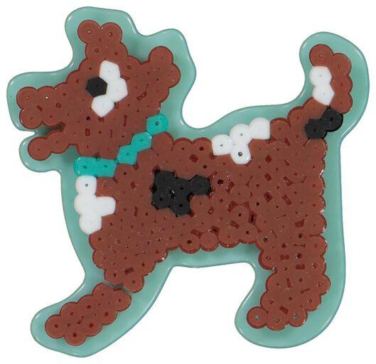 grondplaat strijkkralen - hond - 15940011 - HEMA