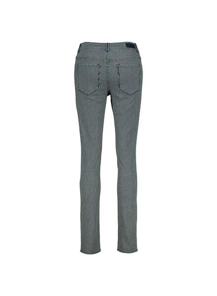 dames jeans - skinny middenblauw middenblauw - 1000014317 - HEMA