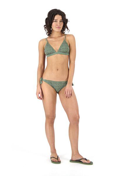 dames bikinislip legergroen legergroen - 1000017924 - HEMA