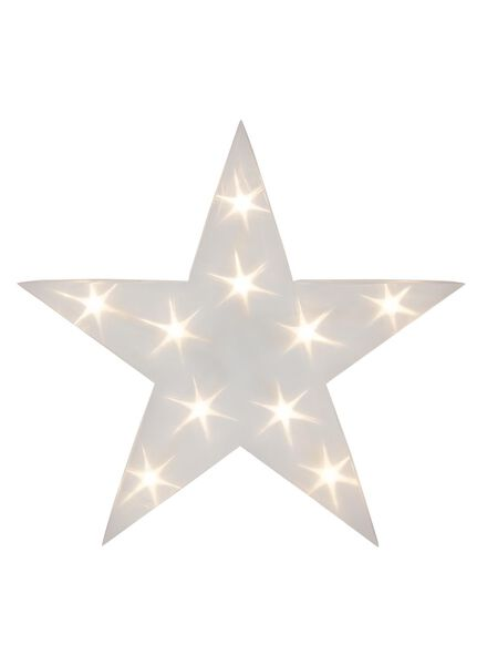 LED kerstverlichting ster - 25590033 - HEMA