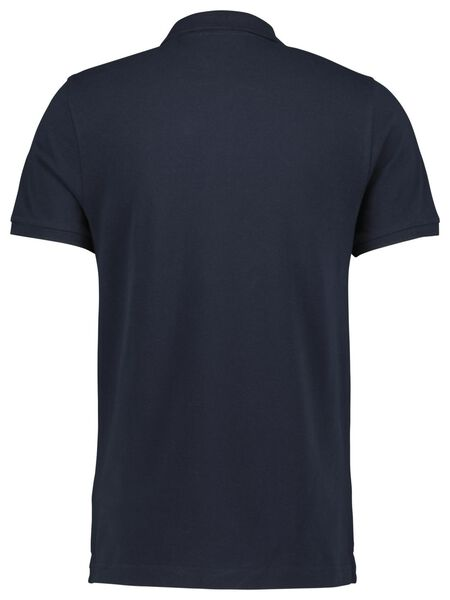 herenpolo donkerblauw donkerblauw - 1000021420 - HEMA