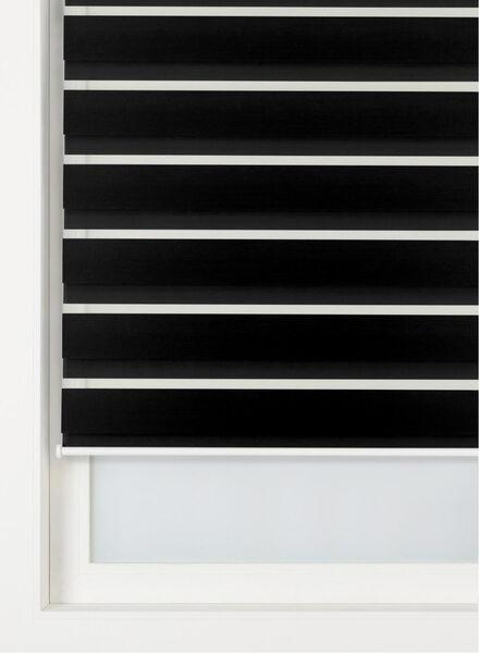 duo rolgordijn uni verduisterend zwart - 1000016401 - HEMA