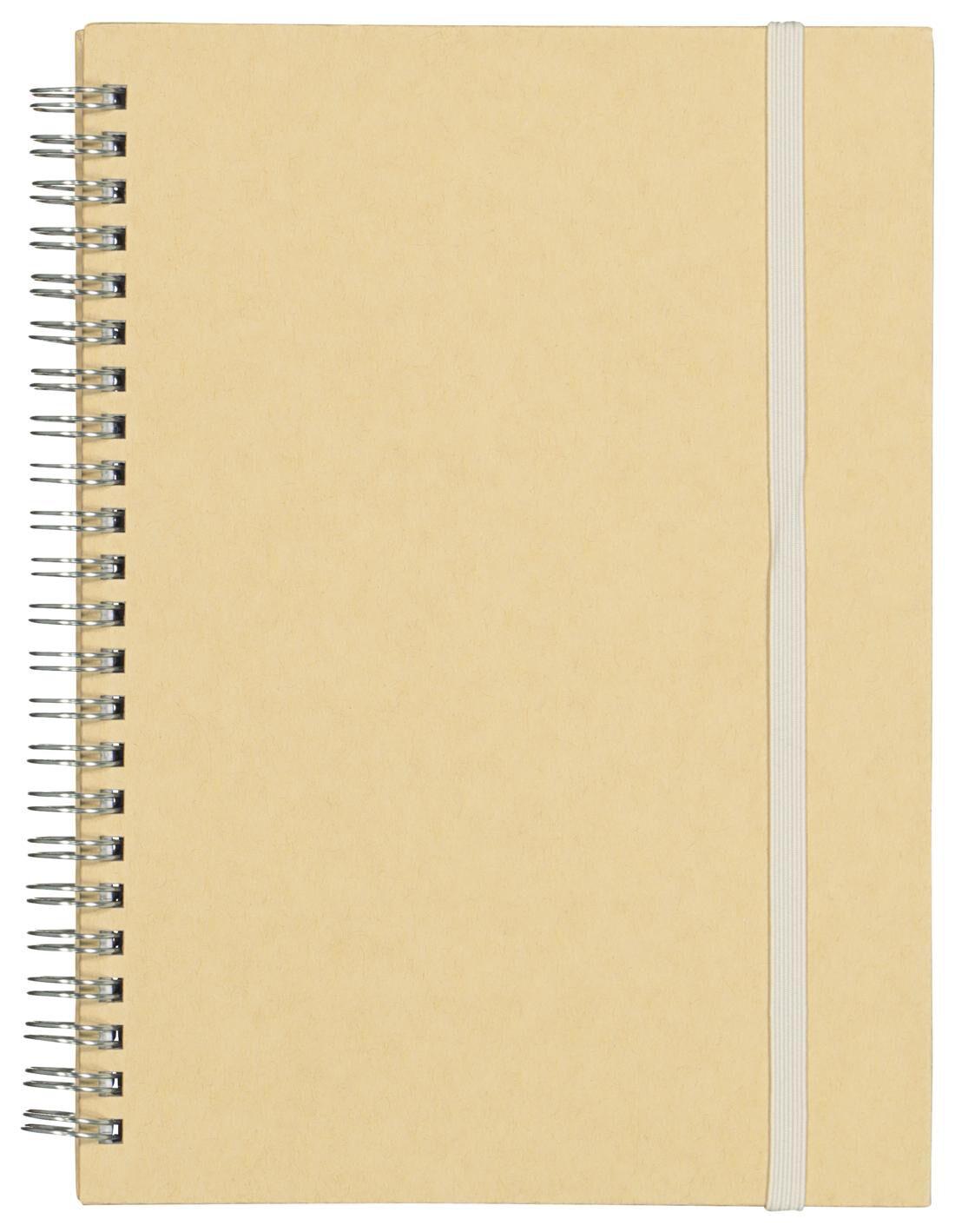 HEMA Notitieboek Gelinieerd Spiraal A5 Karton