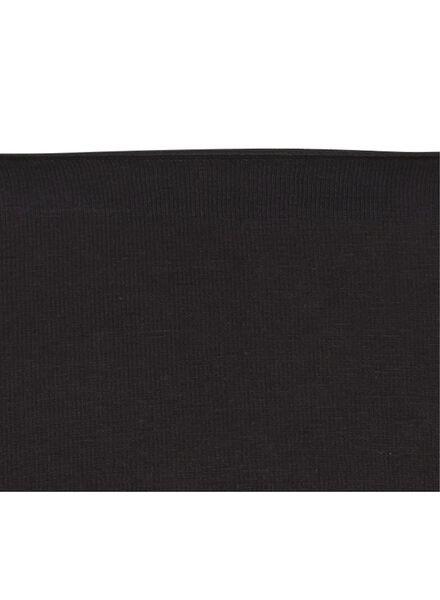 damesboxer -  real lasting cotton zwart zwart - 1000002221 - HEMA