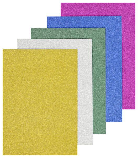 glitterpapier A4 - 20 stuks - 15910058 - HEMA