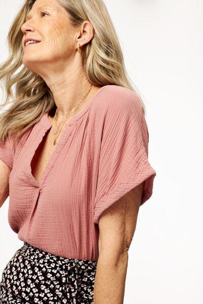 dames top roze - 1000024504 - HEMA