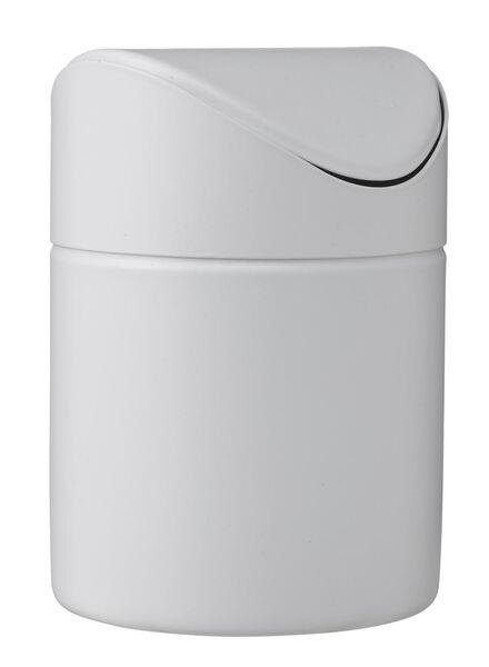 prullenbak 1 liter - 80300121 - HEMA