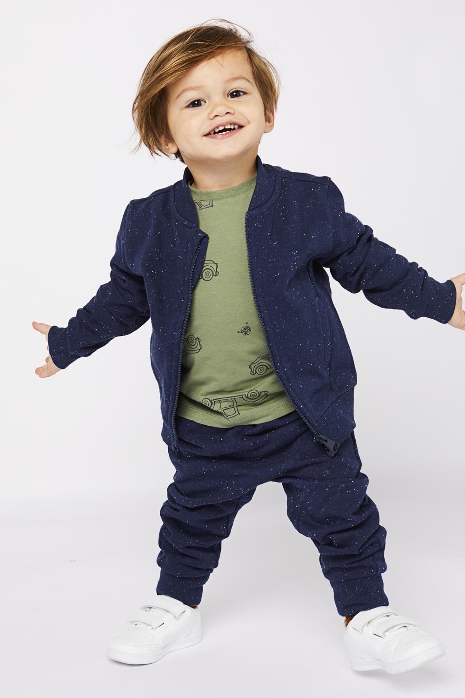 HEMA Kindersweatbroek Donkerblauw (donkerblauw)
