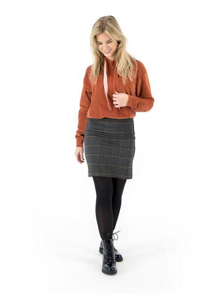 dames hoodie bruin bruin - 1000017135 - HEMA