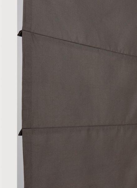 vouwgordijn taft barcelona bruin taft barcelona - 7406412 - HEMA