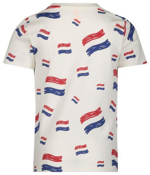 kinder t-shirt wit wit - 1000018919 - HEMA