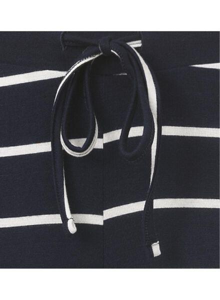 dames pyjamabroek donkerblauw donkerblauw - 1000006652 - HEMA