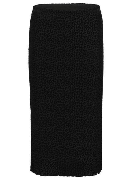 damesrok zwart XL - 36259414 - HEMA