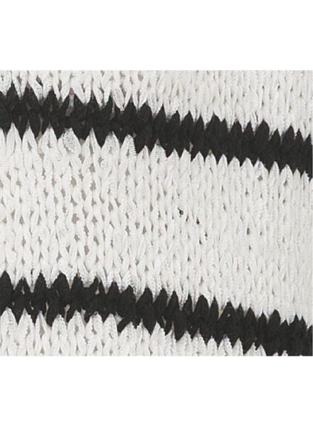 damesvest wit/zwart wit/zwart - 1000003282 - HEMA