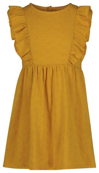 kinderjurk geel geel - 1000019031 - HEMA