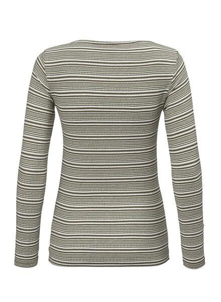 dames t-shirt olijf olijf - 1000012499 - HEMA