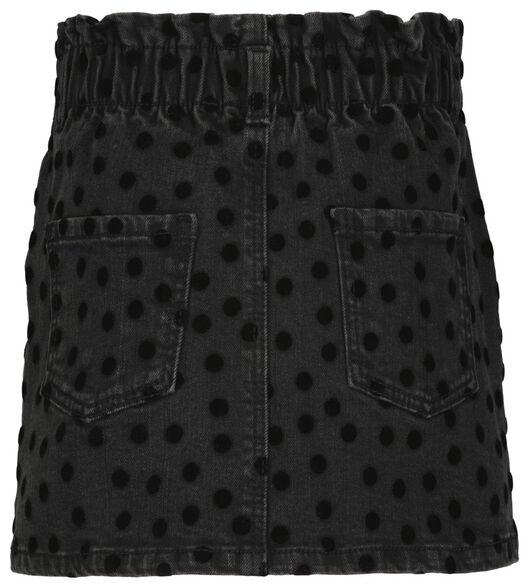 kinderrok paperbag zwart zwart - 1000024703 - HEMA