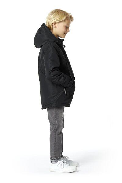 kinderjas zwart - 1000020190 - HEMA