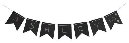 vlaggenlijn 5 meter schoolbord - 14200036 - HEMA