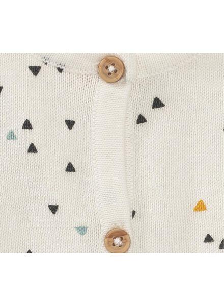newborn vest gebroken wit gebroken wit - 1000010395 - HEMA