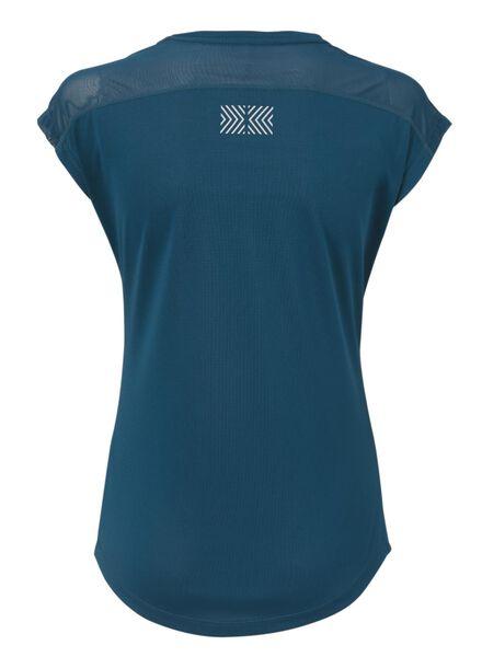 dames sport t-shirt aqua aqua - 1000009171 - HEMA