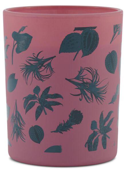 kaarsvaas - Ø 7 cm - roze - 13502407 - HEMA