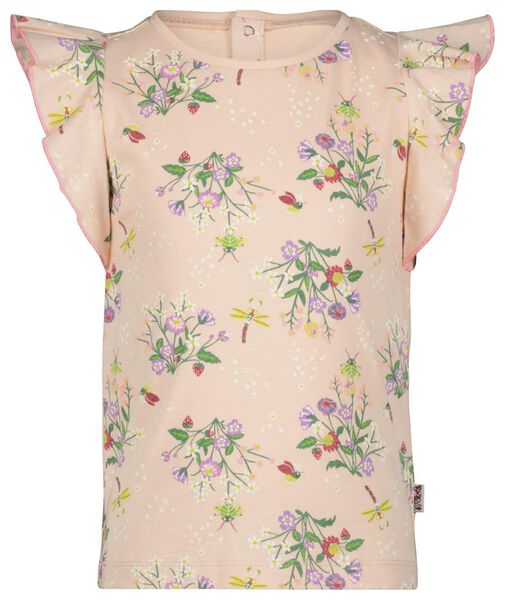 kindershirt ruffle roze roze - 1000023647 - HEMA