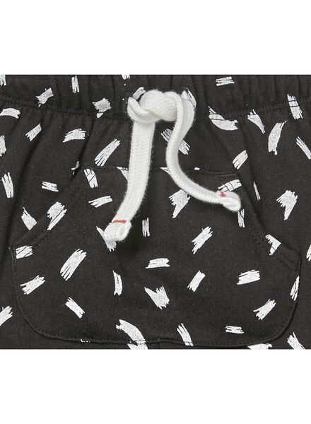 baby sweatbroek zwart zwart - 1000010808 - HEMA