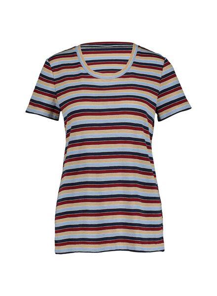 dames t-shirt multi multi - 1000014836 - HEMA