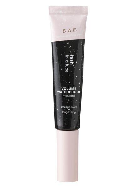 B.A.E. mascara lash in a tube volume waterproof zwart - 17700041 - HEMA