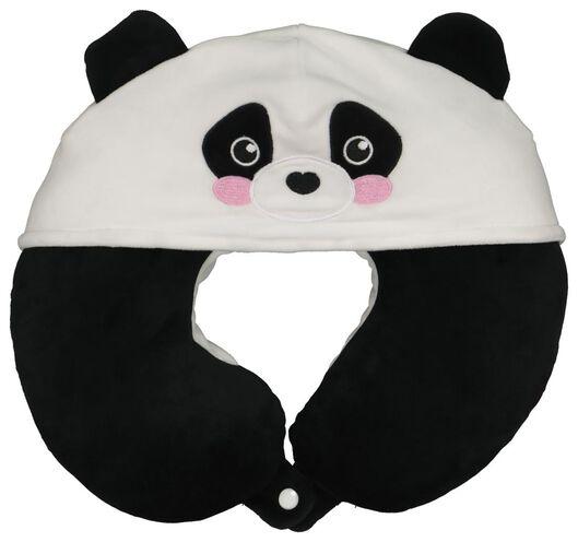 Nekkussen met capuchon panda